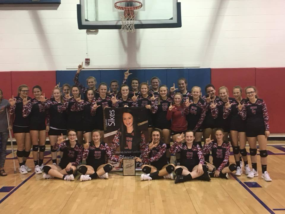 Junior Ladycats Win District