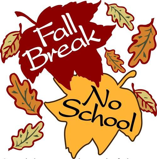 No School Monday, October 23, 2017.