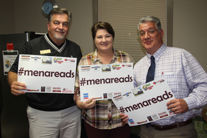 TEAM Mena administrators proud to support #menareads!