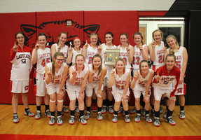 Junior Ladycats Claim District Tourney Championship