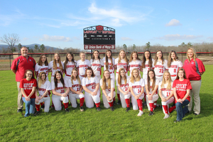 Ladycat Softball Wins First Round of Districts