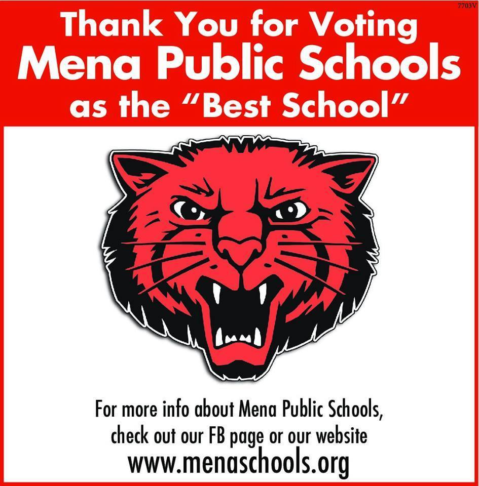 "Mena Schools picked as ""BEST""!"