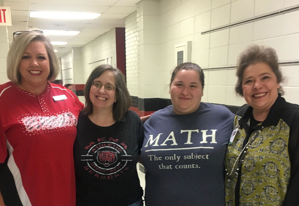 CONGRATULATIONS TO THE MENA MIDDLE SCHOOL MATH DEPARTMENT!