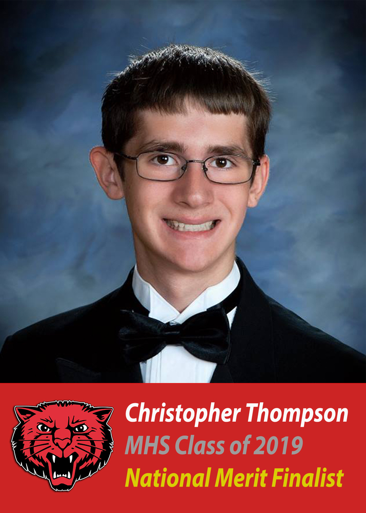 CHRISTOPHER THOMPSON IS FINALIST!