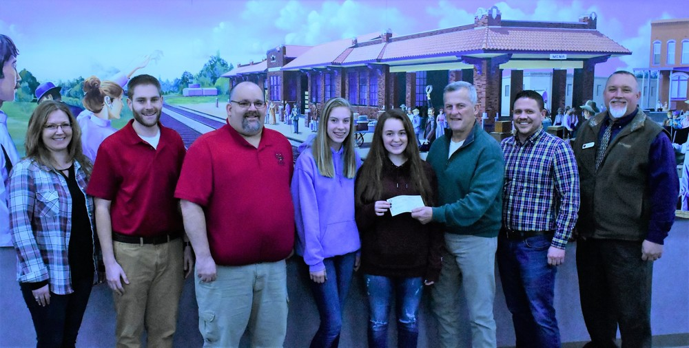 BAND ACCEPTS DONATION FROM THE UNION BANK OF MENA!