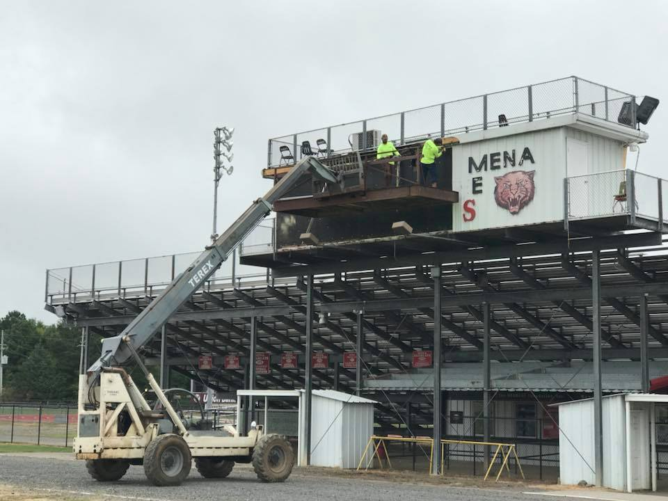 PRESSBOX RENOVATION!