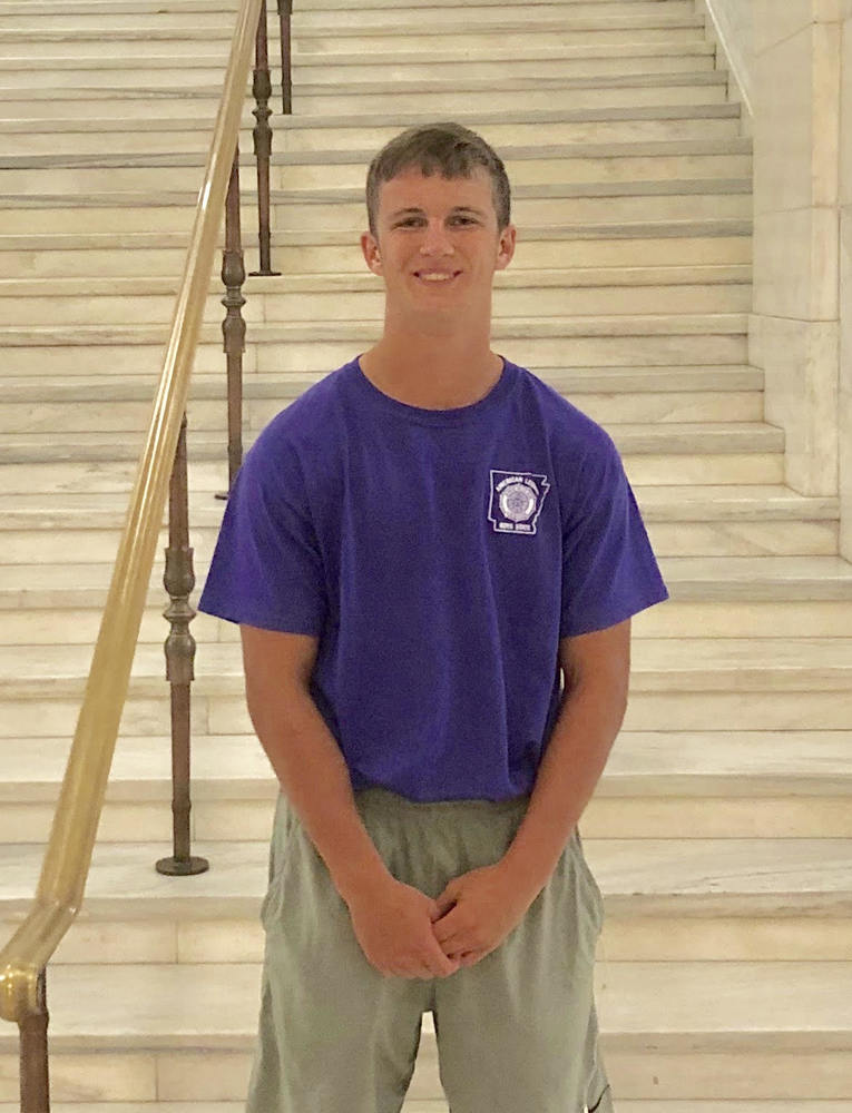 WILSON AT BOYS STATE!