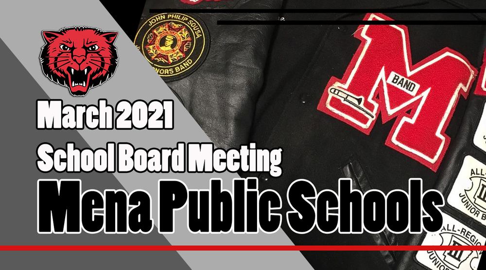 March School Board Meeting!