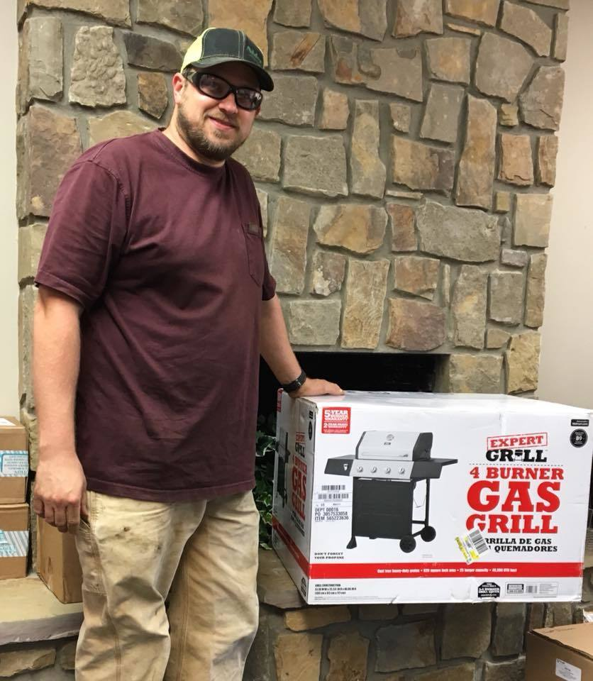 STERNER WINS GRILL FROM MPS!
