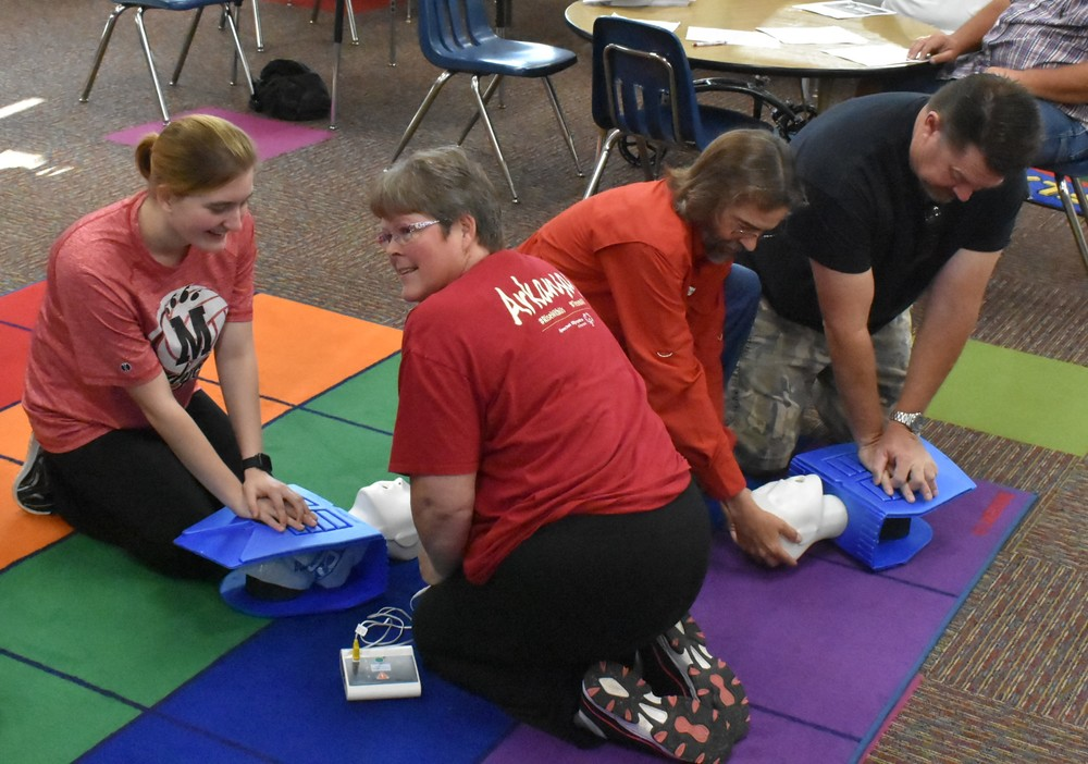 CPR Training!