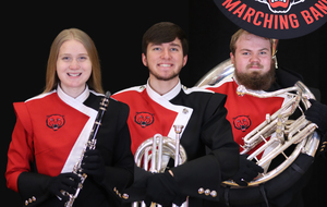 Three Earn All-State Band Honors!