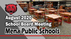 August School Board Meeting!