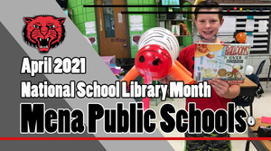​ April is National School Library Month!