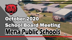 October School Board Meeting!
