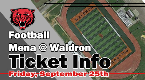 WALDRON TICKET INFO